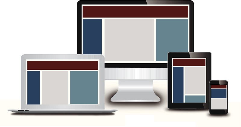 Different devices to indicate the fact that people expect on-demand learning that looks great on any device, which can be achieved with an LXP.