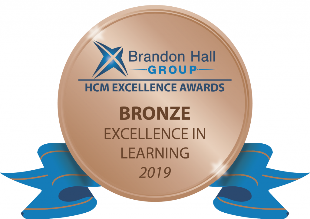 New cloud-based LXP, Instilled, has won its first award—a Brandon Hall Group bronze award for excellence in the Best Use of Performance Support category.