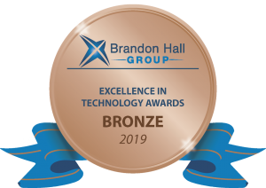 Instilled's 'Brandon Hall Group: Excellence in Technology Awards - Bronze Award for 2019'
