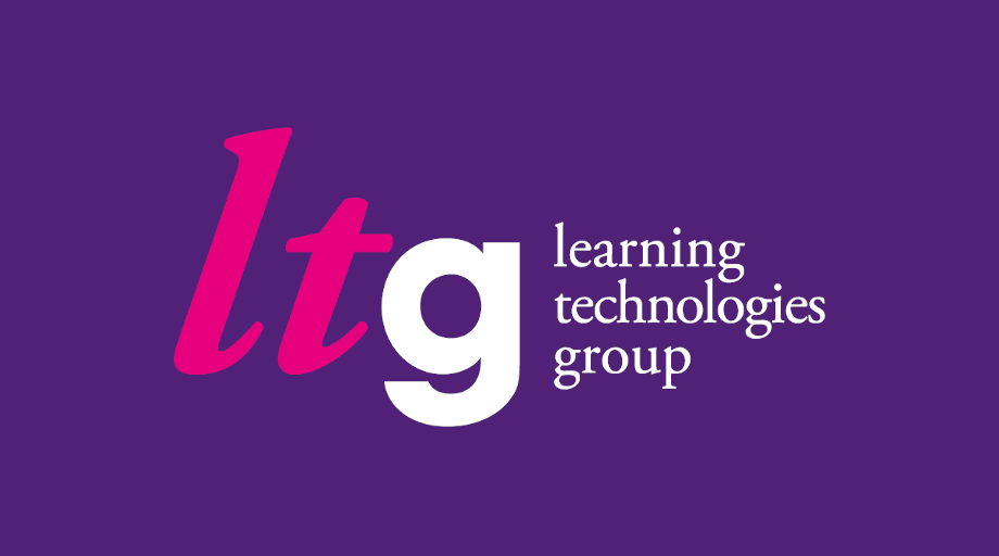 The logo of gomo's parent company, Learning Technologies Group