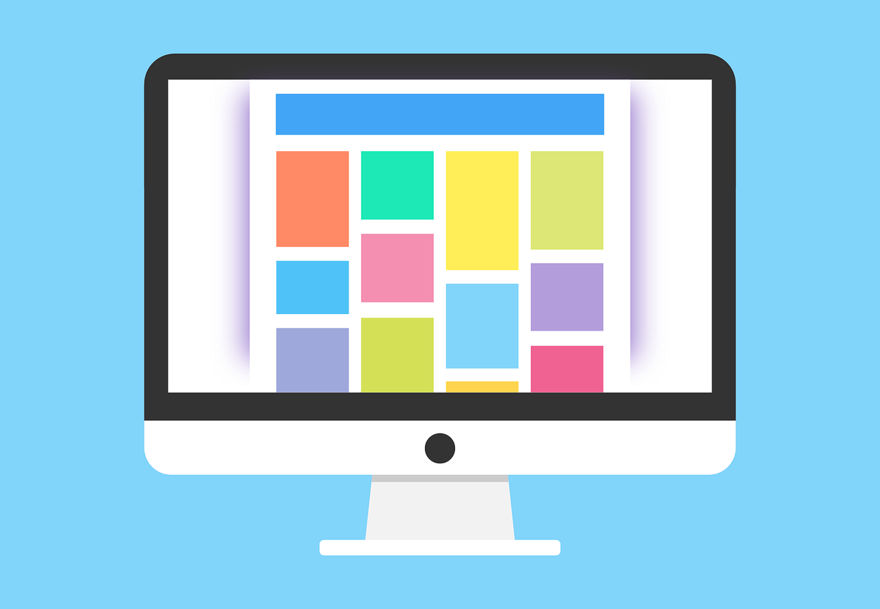 Choosing the right technology for your organization Computer Mockup